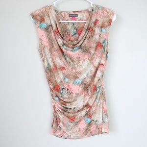 NEW Vince Camuto Cowl Neck Sleeveless Blouse